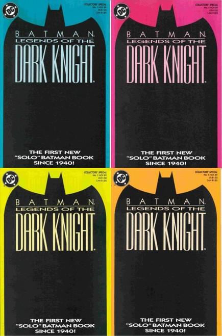 DC Batman Legends of the Dark Knight Set of 4 Comic Books #1