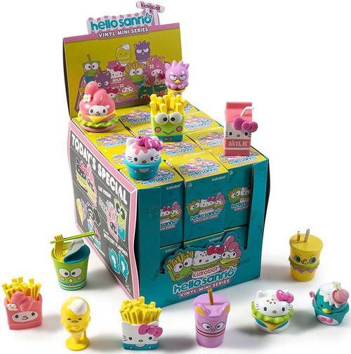 Vinyl Mini Figure Hello Sanrio 3-Inch Mystery Box [24 Packs]