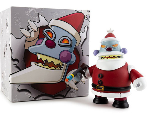 "Futurama ""Naughty"" Robot Santa 6-Inch Medium Figure"
