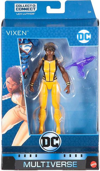 DC Multiverse Lex Luthor Series Vixen Action Figure [Rebirth]