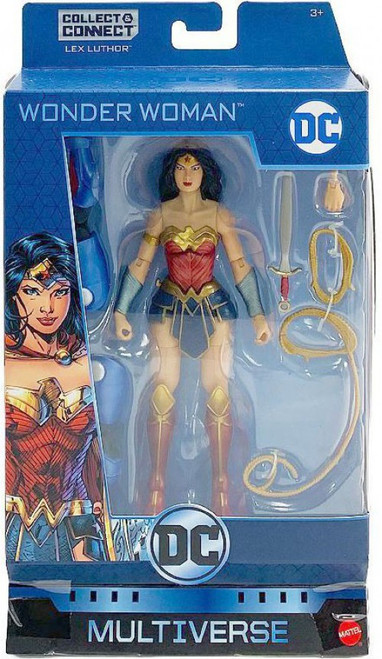 DC Multiverse Lex Luthor Series Wonder Woman Action Figure [Rebirth]
