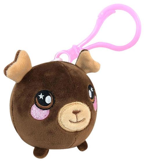 Squeezamals Boris the Moose 3-Inch Clip On Plush