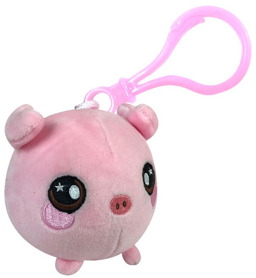 Squeezamals Penelope the Pig 3-Inch Clip On Plush