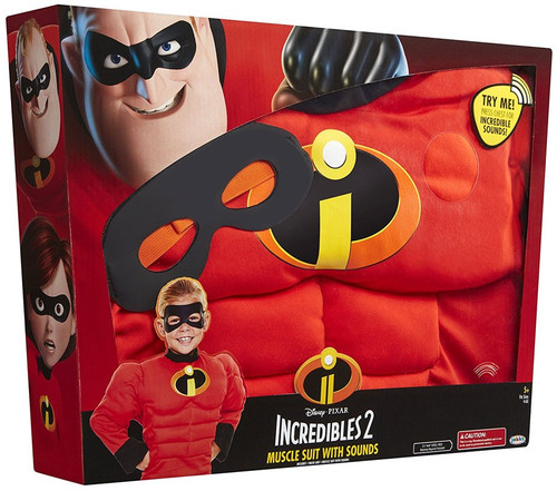 Disney / Pixar Incredibles 2 Mr. Incredible Muscle Suit with Sound