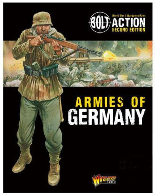 Bolt Action WWII Wargame Armies of Germany Second Edition Book