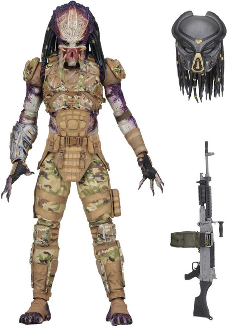 NECA 2018 Movie Emissary Predator Action Figure [Ultimate Version]