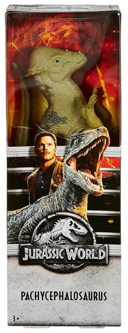 "Jurassic World Fallen Kingdom Pachycephalosaurus Action Figure [12""]"