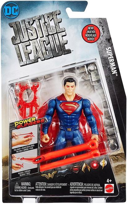 DC Justice League Movie Power Slingers Superman Action Figure