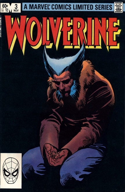 Marvel Comics Wolverine Limited Series #3 Comic Book [Very Fine]