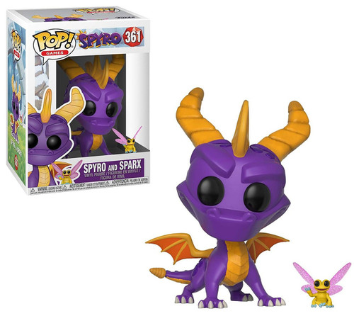 Funko POP! Games Spyro & Sparx Vinyl Figure #361