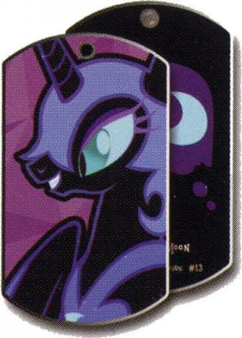 My Little Pony Friendship is Magic Dog Tags Nightmare Moon Dog Tag #13 [Loose]