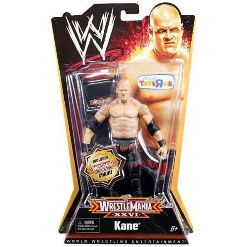 WWE Wrestling WrestleMania 26 Kane Exclusive Action Figure [Damaged Package]