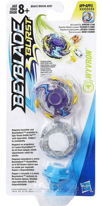 Beyblade Burst Evolution Wyvron Single Top