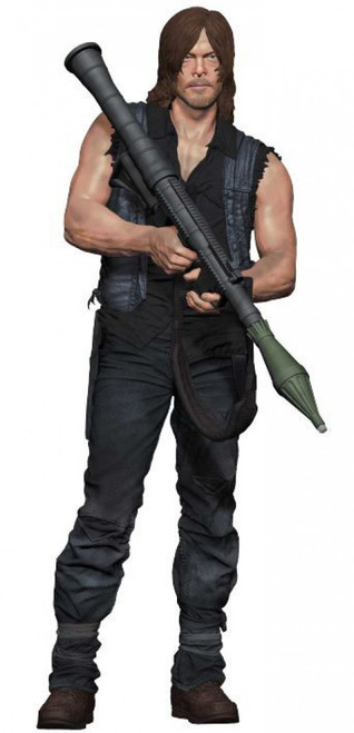 McFarlane Toys The Walking Dead AMC TV Daryl Dixon with Rocket Launcher Deluxe Action Figure