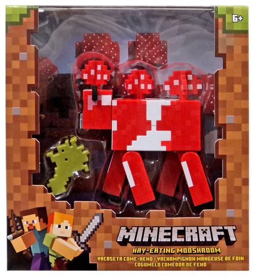 Minecraft Hay-Eating Mushroom Action Figure