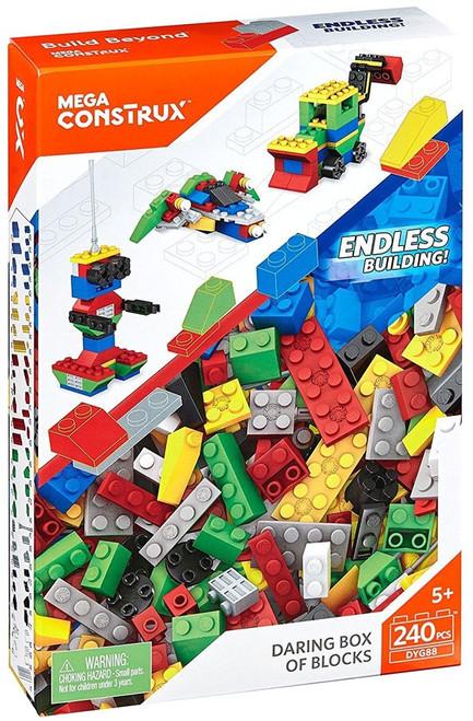 Mega Construx Daring Box of Blocks Set