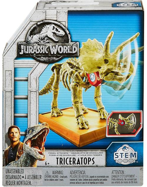 Jurassic World Fossil Striker Triceratops Action Figure