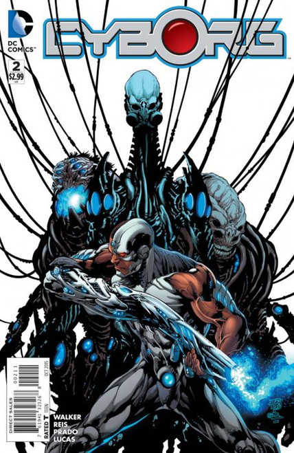 DC Cyborg #2 Comic Book