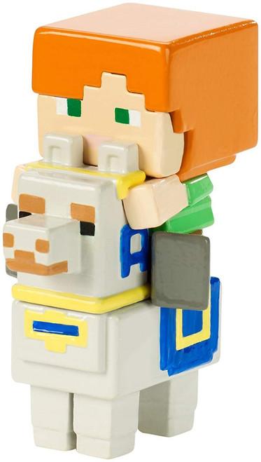 Minecraft Riders Alex on Llama 1.5-Inch Mini Figure