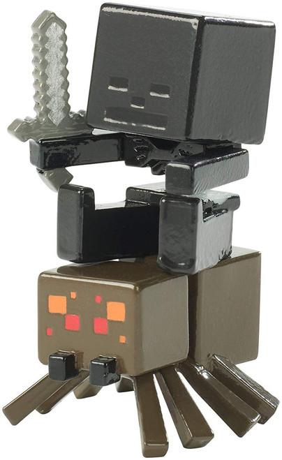 Minecraft Riders Wither Spider Jockey 1.5-Inch Mini Figure