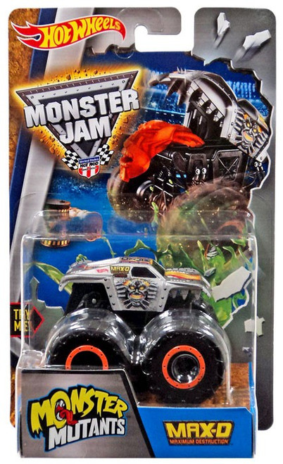 Hot Wheels Monster Jam Monster Mutants Max-D Die-Cast Car