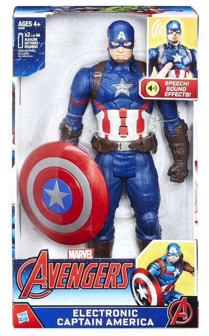 Avengers Captan America Electronic Titan Action Figure