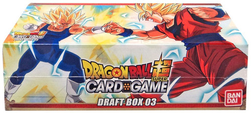 Dragon Ball Super Collectible Card Game Draft Box 03 Booster Box [24 Packs]