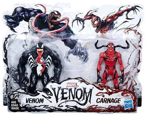 Marvel Venom & Carnage Action Figure 2-Pack
