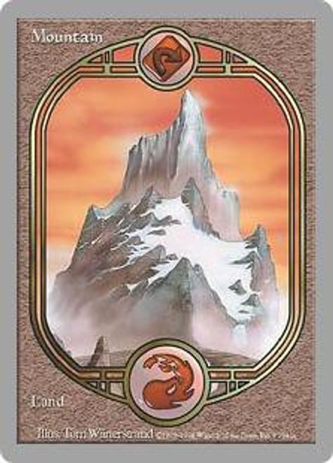 MtG Unglued Common Mountain [Played]