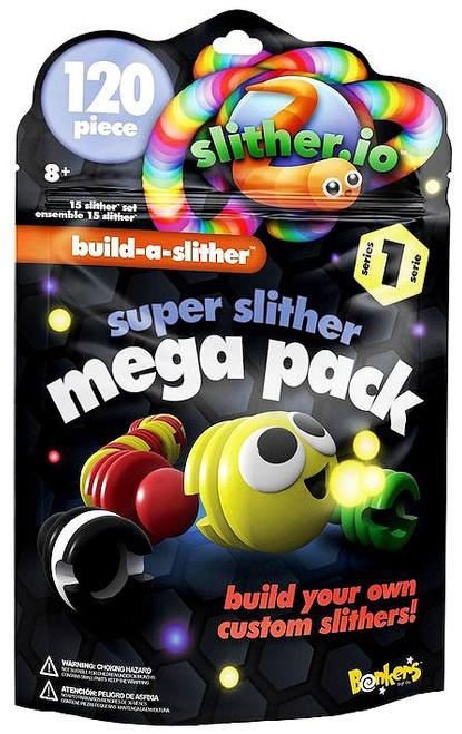 Slither.io Build-a-Slither Series 1 Super Slither Mega Pack