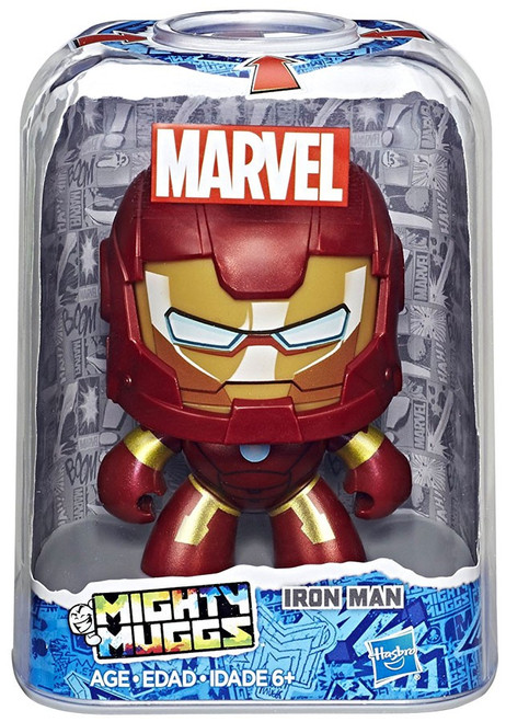 Marvel Mighty Muggs Iron Man Vinyl Figure
