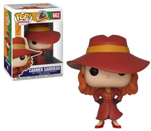 Funko Where in the World Is Carmen Sandiego? POP! TV Carmen Sandiego Vinyl Figure #662