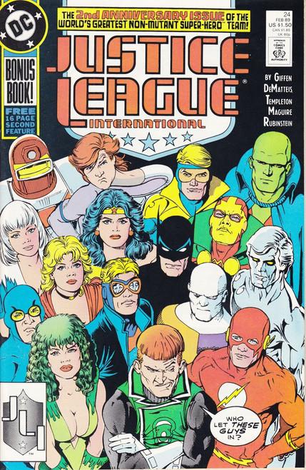 DC Justice League International #24 Comic Book [Very Fine]