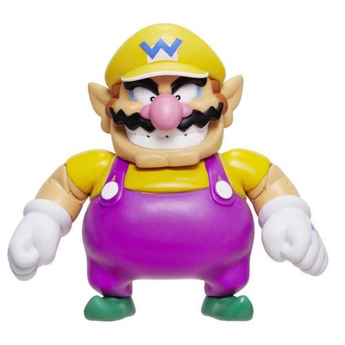 World of Nintendo Super Mario Wario Action Figure [with Coin]