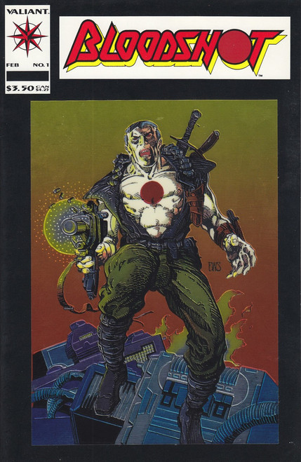 Valiant Comics Bloodshot #1 Comic Book