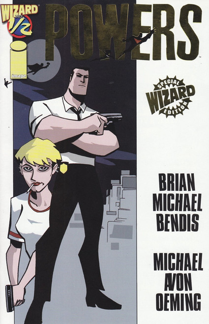 Image Comics Powers #1/2 Special Wizard Edition Comic Book [Wizard Gold Logo]