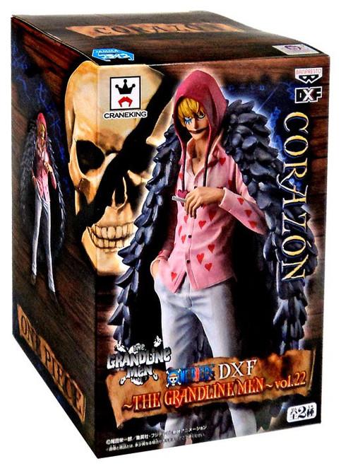 One Piece Grandline Men Corazon 6-Inch Collectible PVC Grandista Figure Vol. 22