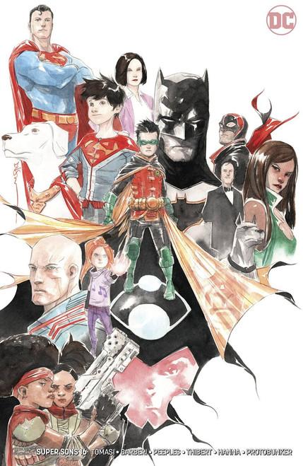 DC Super Sons #16 Comic Book [Variant]