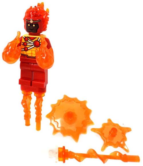 LEGO DC Universe Super Heroes Firestorm Minifigure [With Trans-Orange Power Burst Elements Loose]