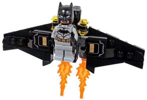 LEGO DC Universe Super Heroes Batman with Bat-Glider Minifigure [Rebirth Batsuit Loose]
