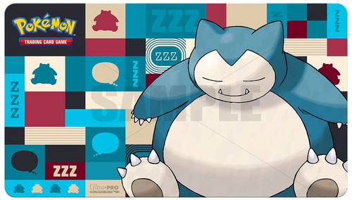 Ultra Pro Pokemon Trading Card Game Card Supplies Snorlax Play Mat
