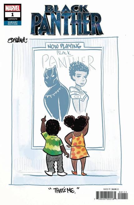 Marvel Comics Black Panther #1 Comic Book [Beland Variant]