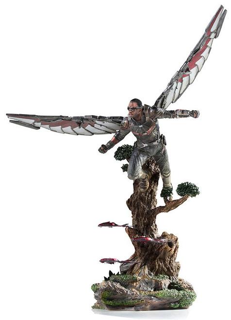 Marvel Avengers Infinity War Falcon Battle Diorama Statue