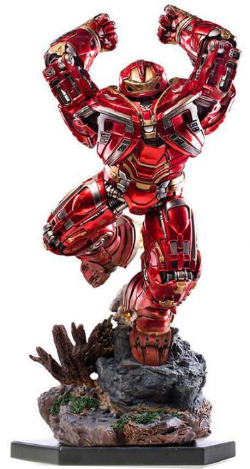 Marvel Avengers Infinity War Hulkbuster Battle Diorama Statue [Bruce Banner]