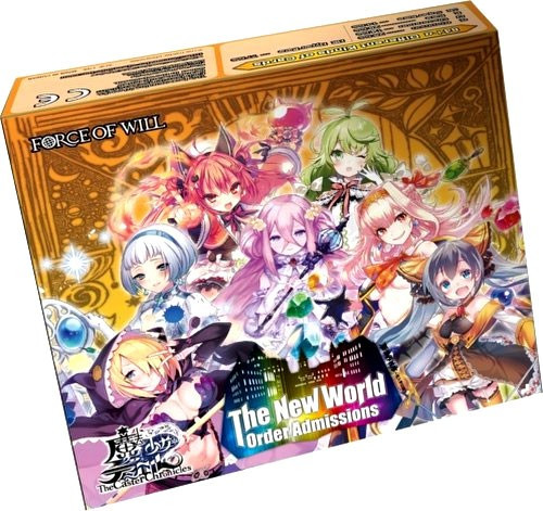 Force of Will Caster Chronicles The New World Order Admissions Booster Box [20 Packs]