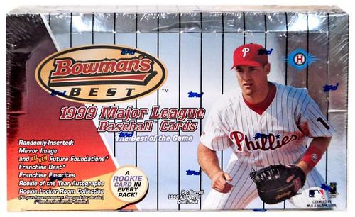 MLB Topps 1999 Bowman's Best Trading Card HOBBY Box