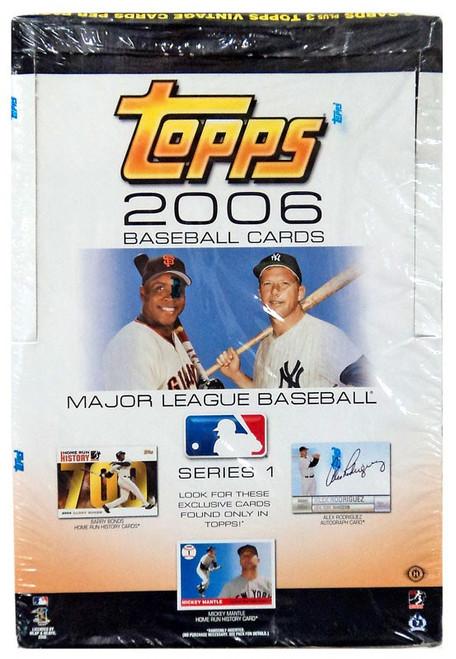 Topps 2006 MLB Series 1 Trading Card Box