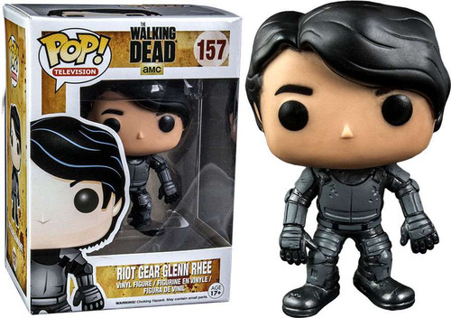 Funko The Walking Dead POP! TV Riot Gear Glenn Rhee Exclusive Vinyl Figure #157
