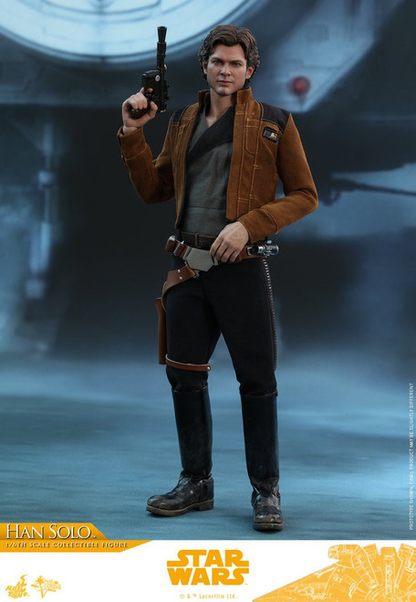 Solo A Star Wars Story Movie Masterpiece Han Solo Collectible Figure MMS491 [Regular Version] (Pre-Order ships November)