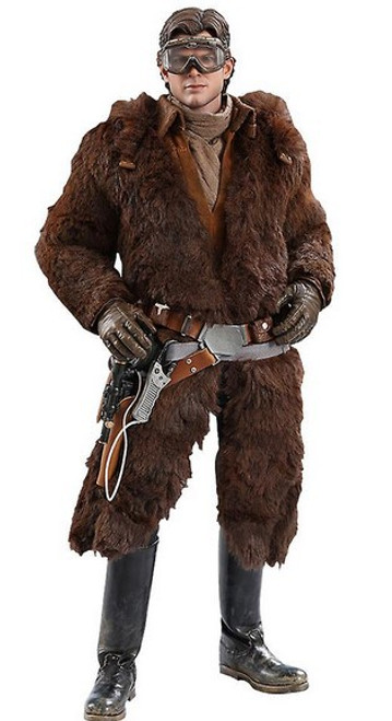 Solo A Star Wars Story Movie Masterpiece Han Solo Collectible Figure MMS491 [Deluxe Version]